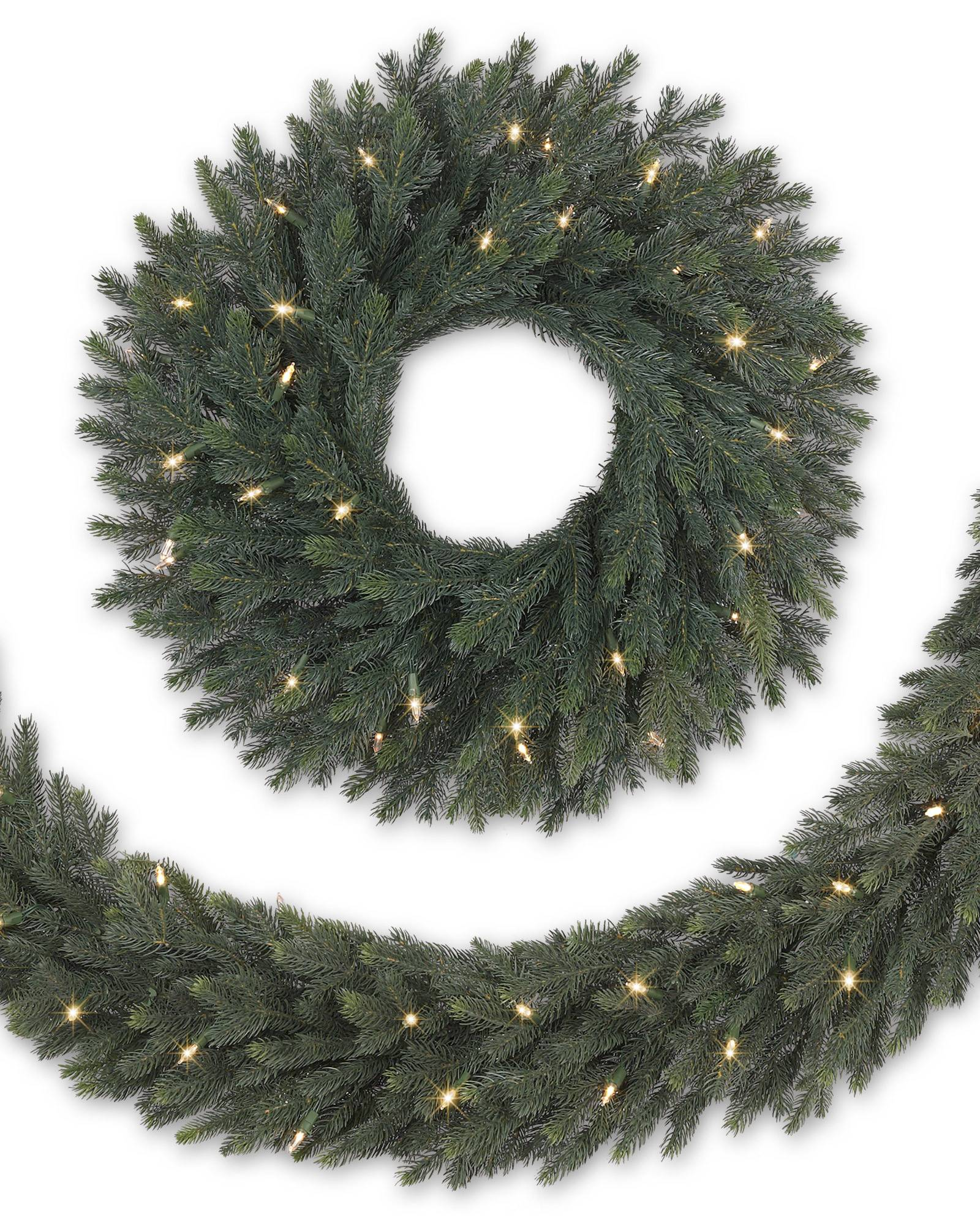 Norway Spruce Artificial Christmas Foliage | Balsam Hill
