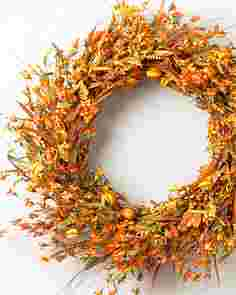 Sunset Meadow Wreath by Balsam Hill SSCR 10