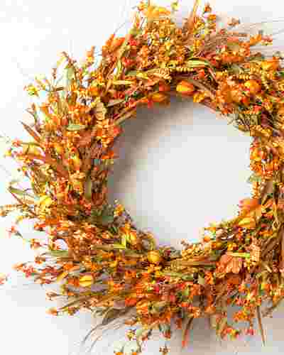 Sunset Meadow Wreath by Balsam Hill