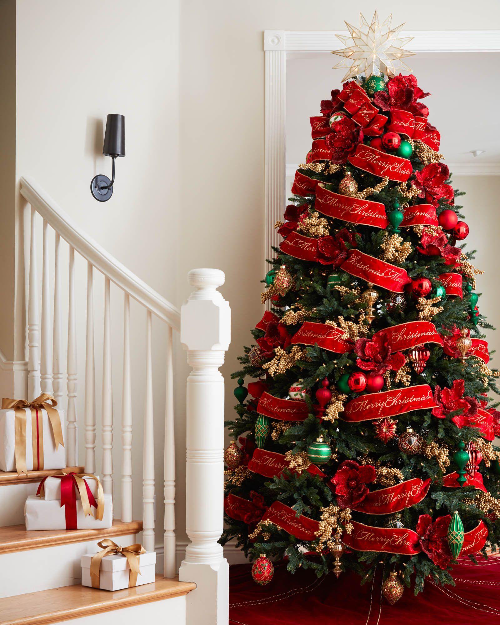 Plaid Christmas Tree Skirts