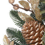 Noble Fir Gilded Wreath by Balsam Hill