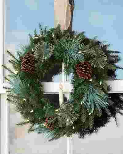 Mixed Evergreen Garland by Balsam Hill