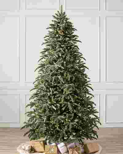 BH Noble Fir Narrow Pre Fluffed Tree by Balsam Hill SSC 10
