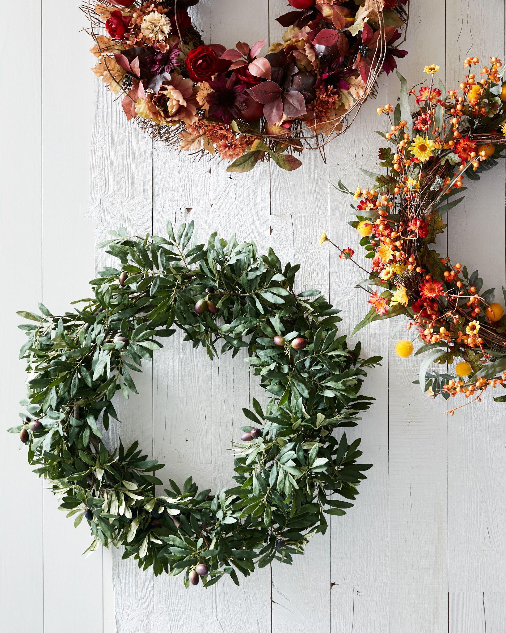 Attractive Olive Branch Wreath, Garland & Swag | Balsam Hill TQ56
