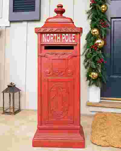 Outdoor Letters to Santa Mailbox by Balsam Hill