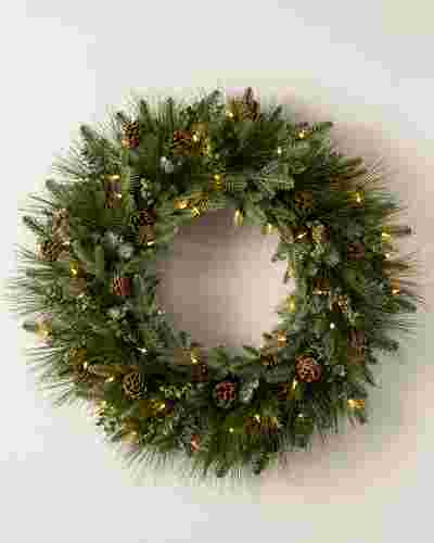 Wintry Woodlands Wreath by Balsam Hill