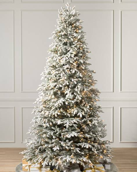 Easy Plug Pre-lit Artificial Christmas Trees | Balsam Hill