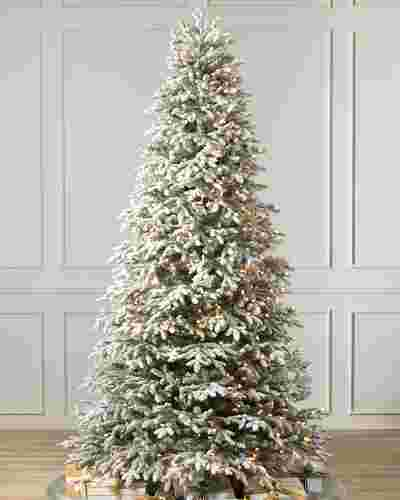 BH Frosted Fraser Fir  Narrow by Balsam Hill