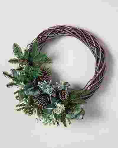 Wintergreen Woods Wreath by Balsam Hill