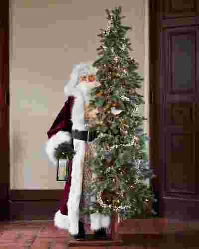 Life-Size-Biltmore-Santa by Balsam Hill