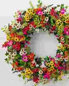 Outdoor Meadow Wreath by Balsam Hill