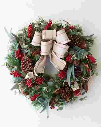 Farmhouse Wreath 28 Inches