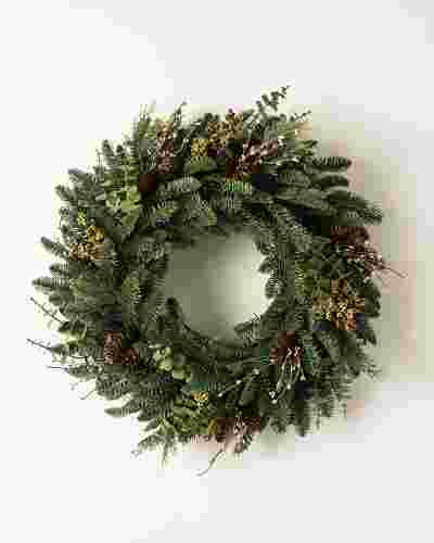 Mountain Meadow Wreath by Balsam Hill SSC 20
