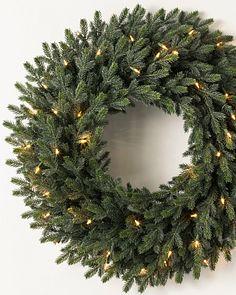 Unlit Christmas Wreaths Garlands Foliage Balsam Hill