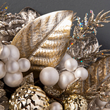 Gilded Glamour Wreath by Balsam Hill Foliage