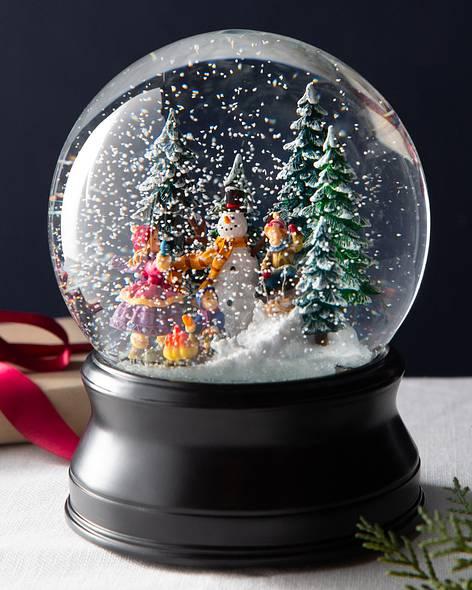 christmas snow globes balsam hill