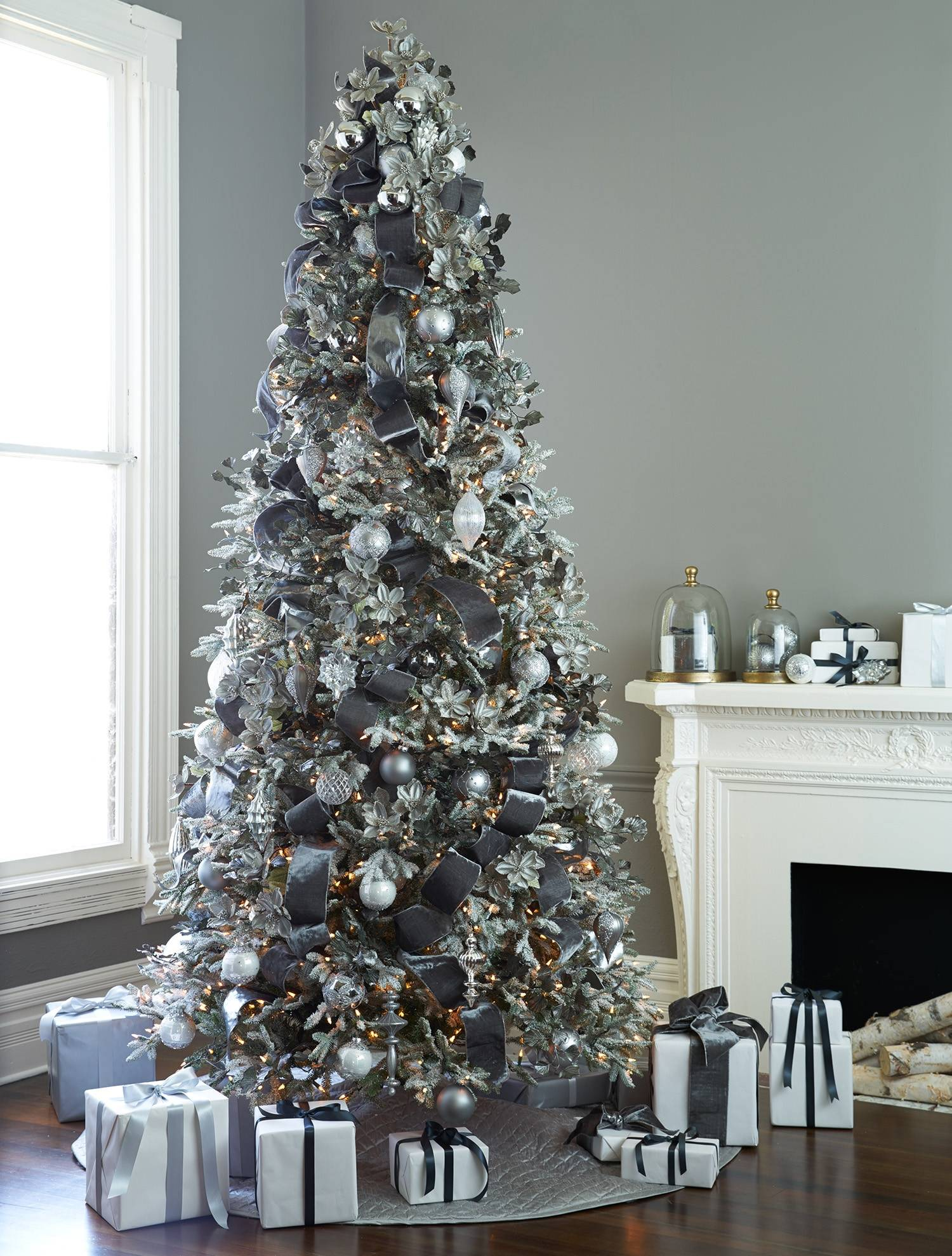 more photos 4f731 8955c Frosted Fraser Fir Artificial Christmas Tree   Balsam Hill