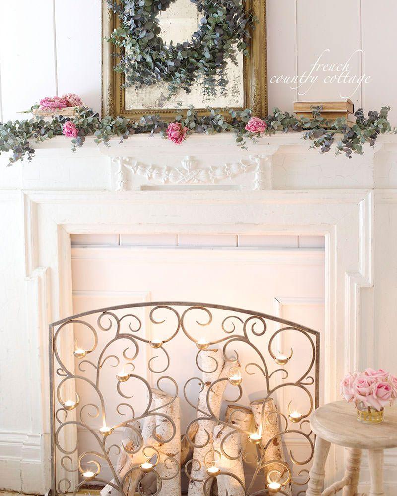 Tea Light Hearth Fireplace Screen Burnished Gold Balsam Hill