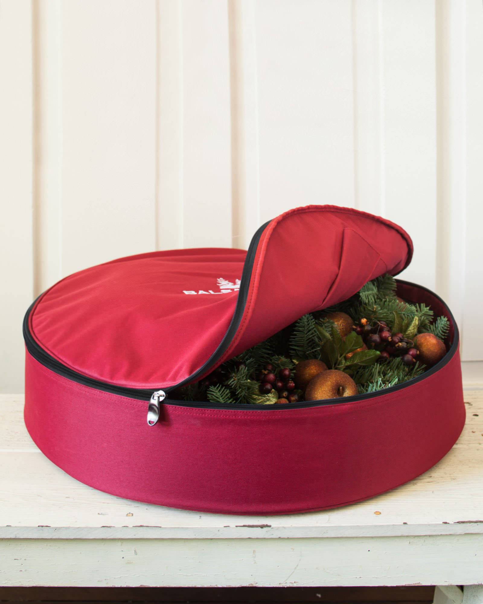 medium wreath storage bag main
