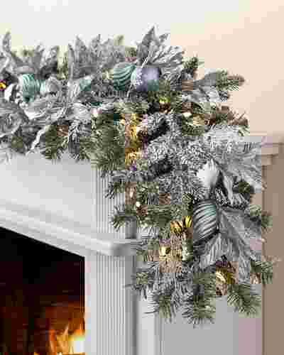 Silver Frost Garland by Balsam Hill