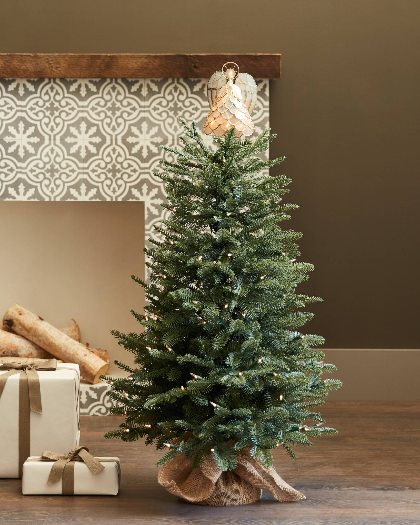 ... Balsam Fir Tabletop Tree by Balsam Hill