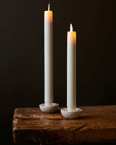 Miracle Flame LED Wax Taper Candles
