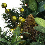 Bay Laurel with Mixed Berries by Balsam Hill Foliage