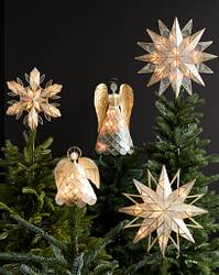 Double Sided Starburst Christmas Tree Topper by Balsam Hill Lifestyle 50