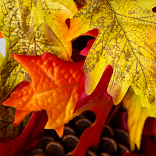 Outdoor Falling Leaves Foliage by Balsam Hill PDP Foliage