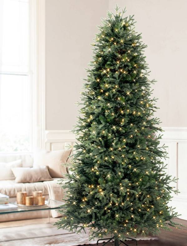 Artificial Christmas Tree With Lights.Norway Spruce Artificial Christmas Tree Balsam Hill
