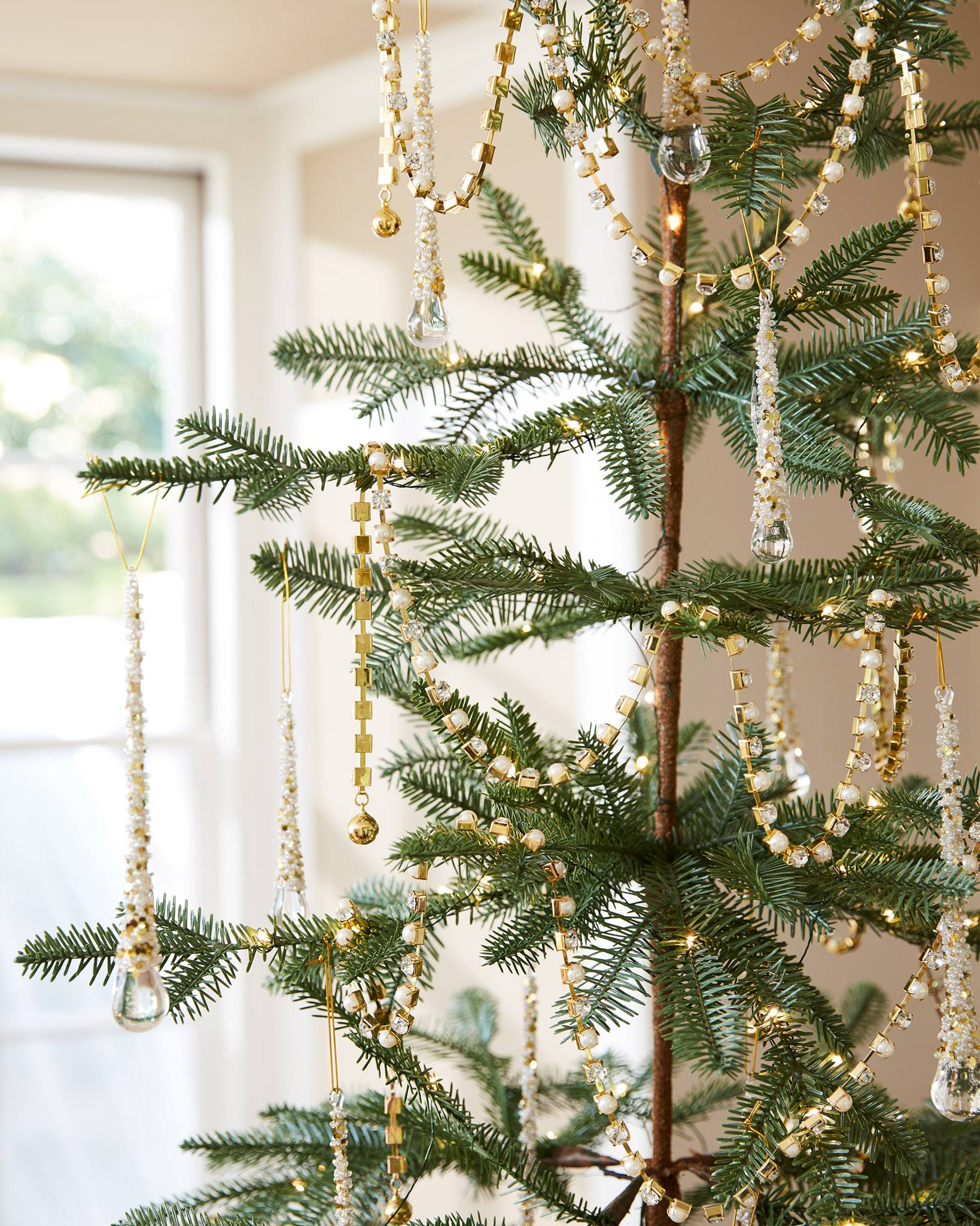 Sparse Christmas Tree Decorating.Alpine Balsam Fir Artificial Christmas Tree Balsam Hill Uk