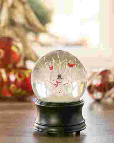 Snowman Musical Snow Globe Main