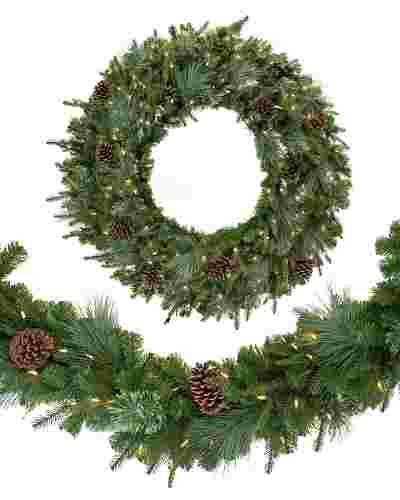 Mixed Evergreen Garland Main
