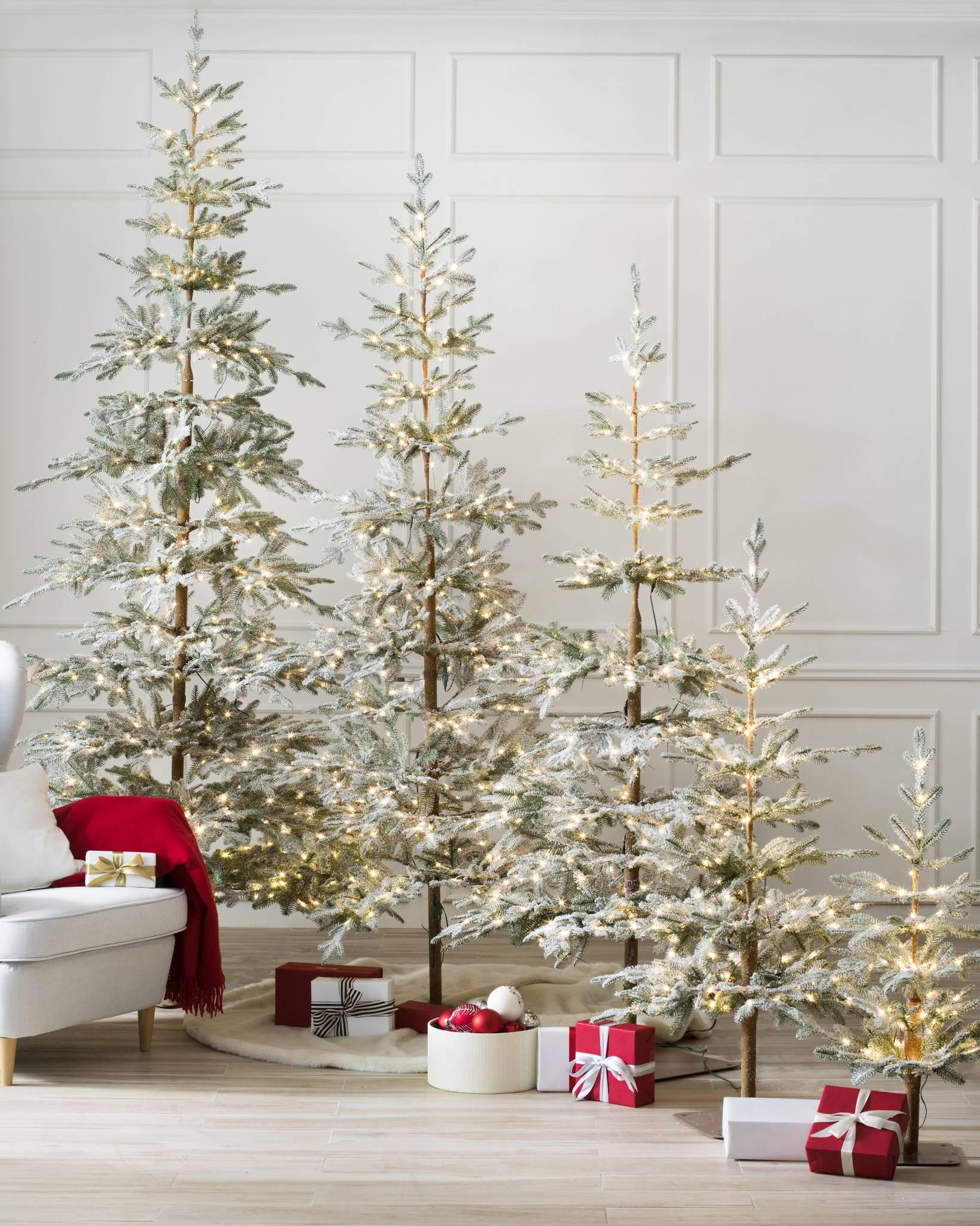 Frosted Alpine Balsam Fir Artificial Christmas Tree | Balsam Hill