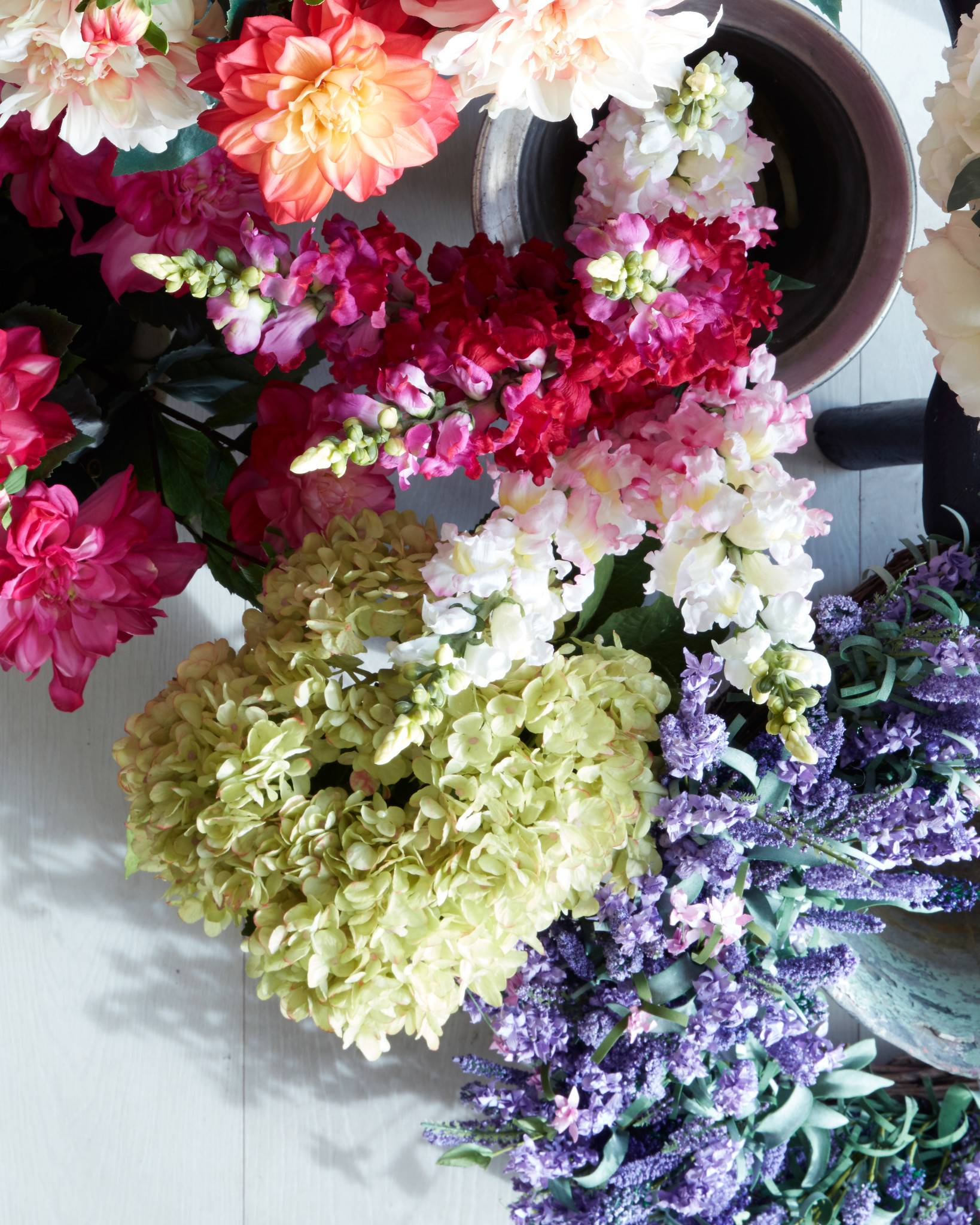 Hydrangea Flower Stems   Balsam Hill