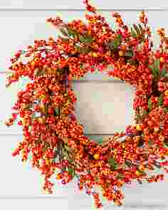 Fall Berry Wreath by Balsam Hill