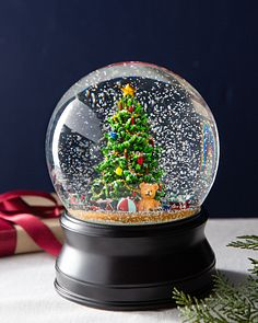 Christmas Snowglobes.Christmas Snow Globes Balsam Hill
