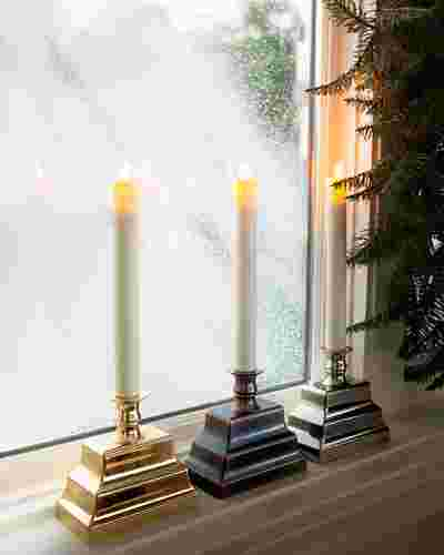Miracle Flame LED Window Candles, Set of 2 by Balsam Hill Main