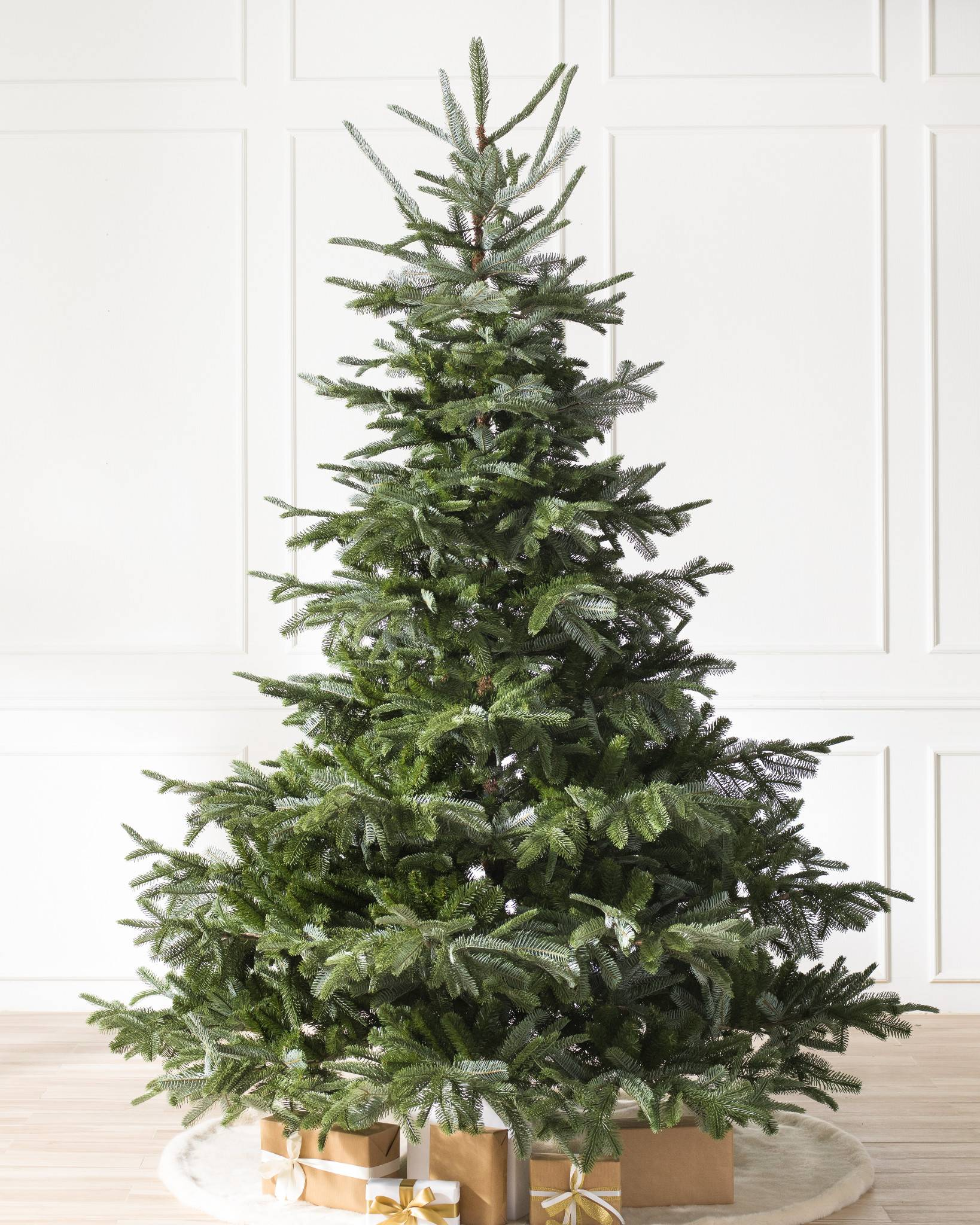 european fir artificial christmas tree by balsam hill unlit - Decorated Artificial Christmas Trees