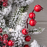 Red Berry BH Frosted Fraser Fir Foliage by Balsam Hill Foliage