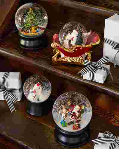Christmas Moments Musical Snow Globe by Balsam Hill