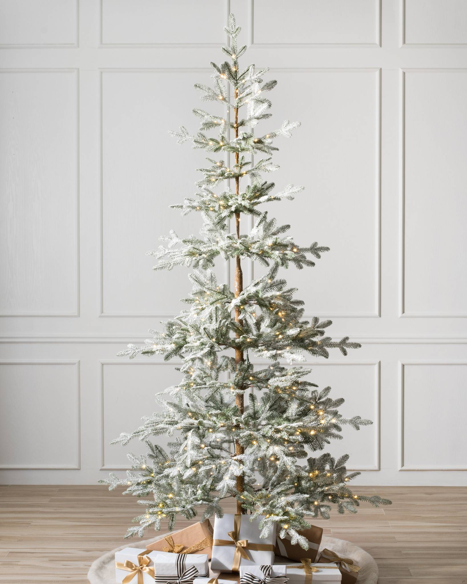 reputable site 9ddcb a4b09 Frosted Alpine Balsam Fir Artificial Christmas Tree | Balsam ...