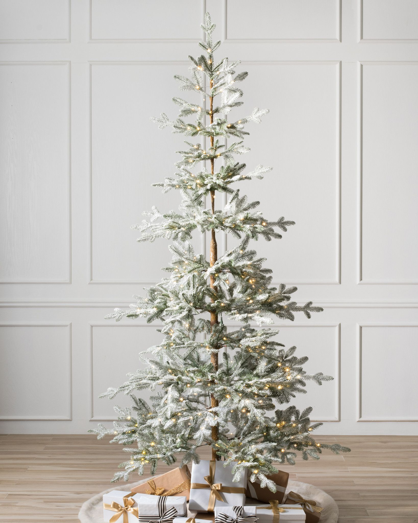 Frosted Alpine Balsam Fir Artificial Christmas Tree