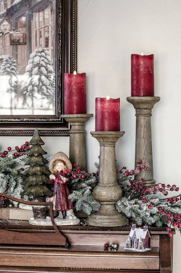 Miracle Flame Led Wax Christmas Candles Balsam Hill