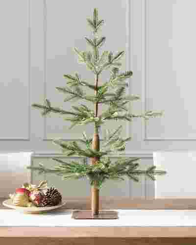 3' Unlit Alpine Balsam Fir Tabletop Tree by Balsam Hill