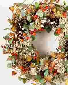 Briarwood Cottage Wreath by Balsam Hill