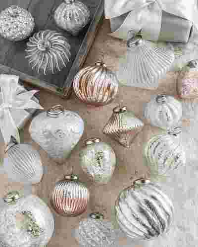 French Country Ornament Set, 12 Pieces by Balsam Hill