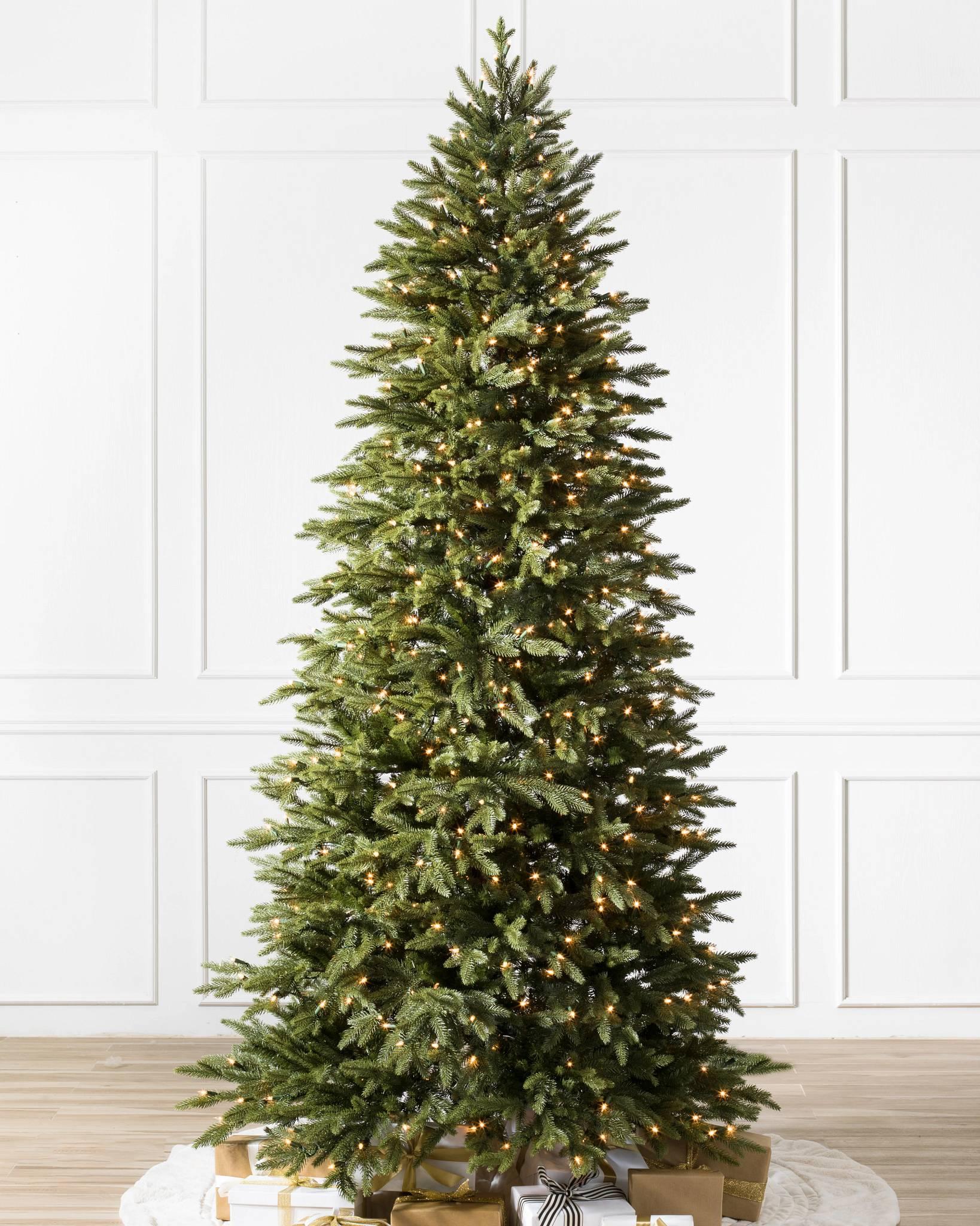 Balsam Hill Christmas Tree.Silverado Slim Artificial Christmas Tree Balsam Hill