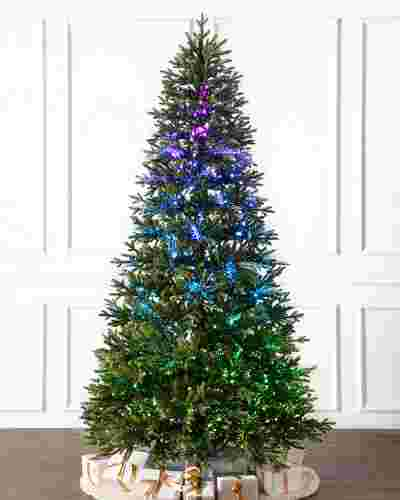 Broadway Fiber Optics Tree by Balsam Hill