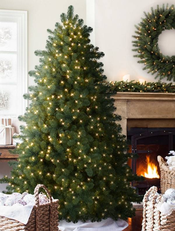 ... Aberdeen Spruce-5 - Aberdeen Spruce Artificial Christmas Tree Balsam Hill